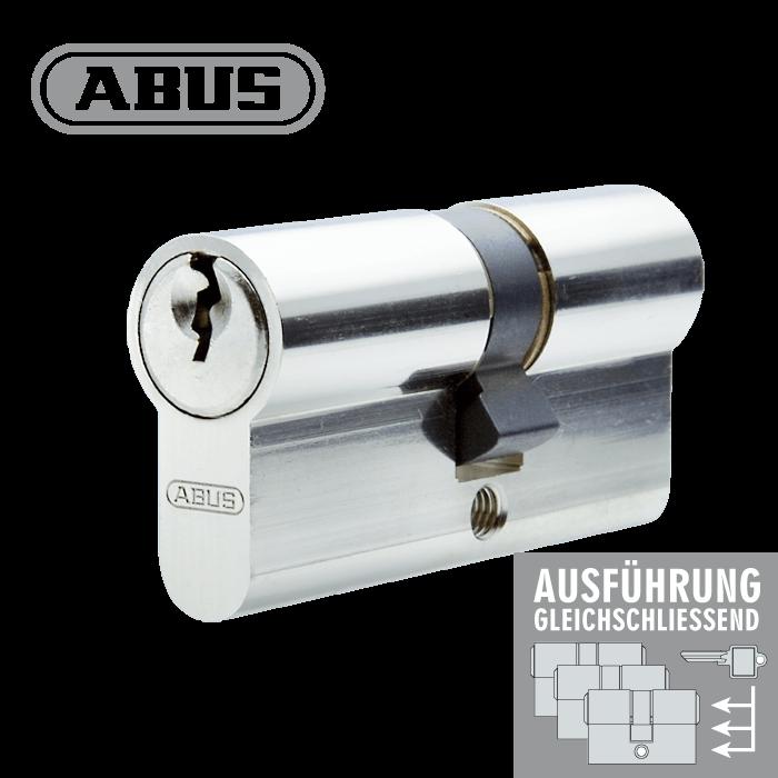 ABUS C83N 55//55  inkl 3 Schlüssel Profilzylinder Tür Zylinder Schloss Türschloss