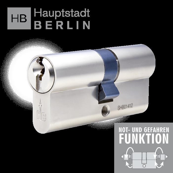 hb schlie zylinder mit sicherungskarte made in germany ngf. Black Bedroom Furniture Sets. Home Design Ideas