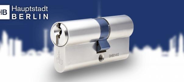 ISEO Zylinder 45//50  mit Sicherungskarte Not und Gefahr