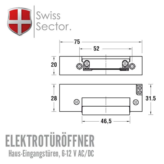 Elektrischer Türöffner ET400 günstig - Schlüssel Discount Shop