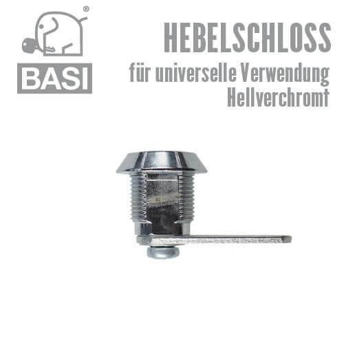 Hebelschloss inkl 2 Schlüssel HS 309