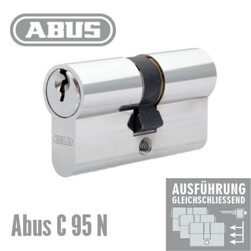 abus c95n gleichschlie end g nstig schl ssel discount shop. Black Bedroom Furniture Sets. Home Design Ideas