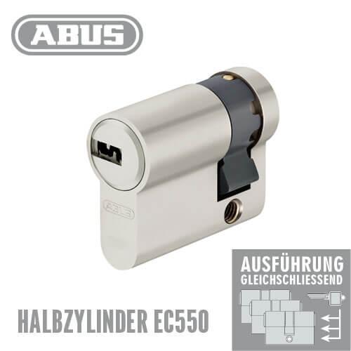 halbzylinder abus ec550 g nstig schl ssel discount shop. Black Bedroom Furniture Sets. Home Design Ideas