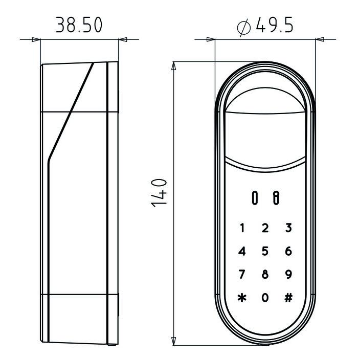 pin code leseger t f r yale entr g nstig schl ssel discount shop. Black Bedroom Furniture Sets. Home Design Ideas