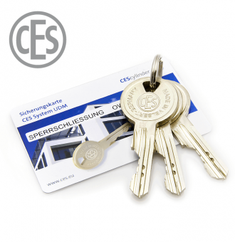 CES-UDM-Schlüssel
