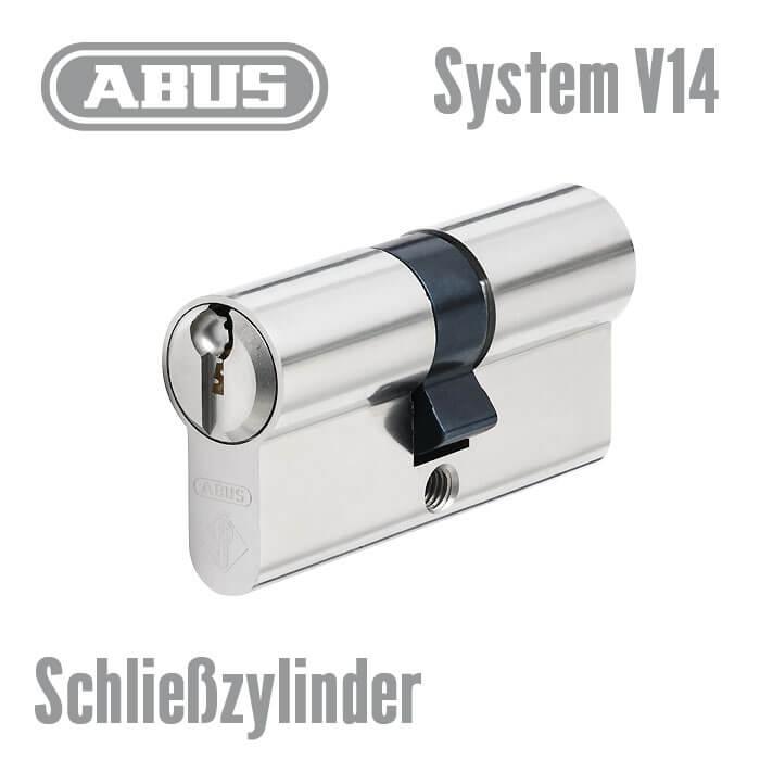 Abus V14 Schliesszylinder Mit Sicherungskarte Patentgeschutzter
