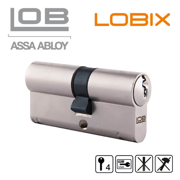 lobix xt schlie zylinder von lob assa abloy mit. Black Bedroom Furniture Sets. Home Design Ideas