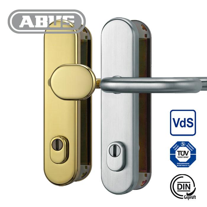 ABUS Schutzbeschlag mit Ziehschutz KLZS 714 Messing