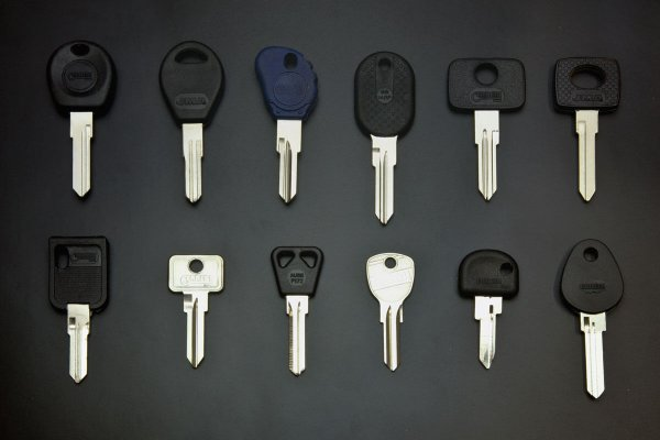 Fahrrad- und Autoschlüssel